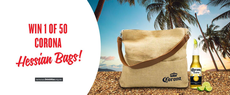 Corona Hessian Bags